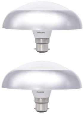Philips 10 W Decorative B22 LED Bulb (White;Pack of 2)