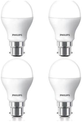 Philips 9 W LED Bulb (White Pack of 4)
