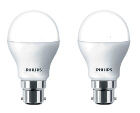 Philips 9 Watt B22 Pin Type LED Bulb Cool Daylight ( Pack Of 2 )