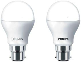 Philips 9 Watt B22 Pin Type LED Bulb Cool Daylight ( Pack Of 2 )