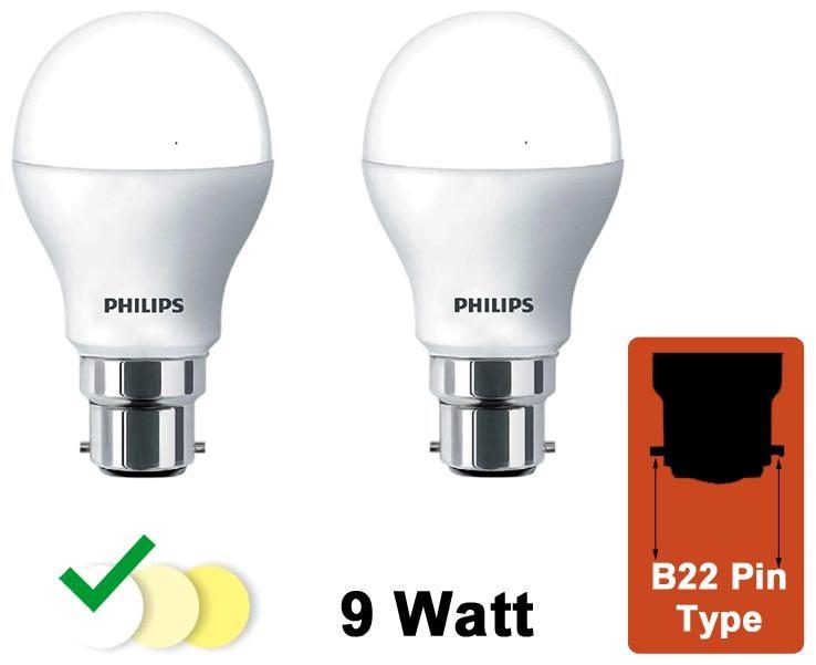 Philips 9 Watt B22 Pin Type LED Bulb Cool Daylight