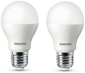 Philips 9 Watt B22 E27 LED Bulb, Cool Daylight (Pack of 2)