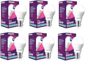 Philips AceSaver 10.5W LED Bulb 6500K (Cool Day Light) - Pack of 6