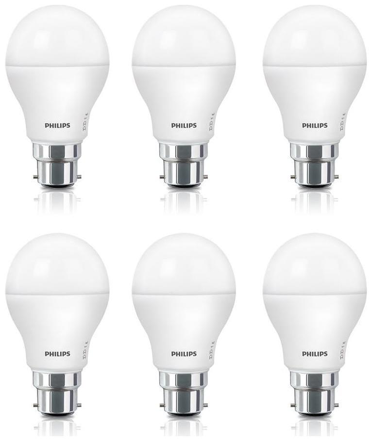 Philips Acesaver 9W LED Bulb 6500K Cool Day Light - Pack of...
