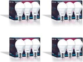 Philips Base B22 7-Watt LED Bulb (Pack of 12;Cool Day Light)