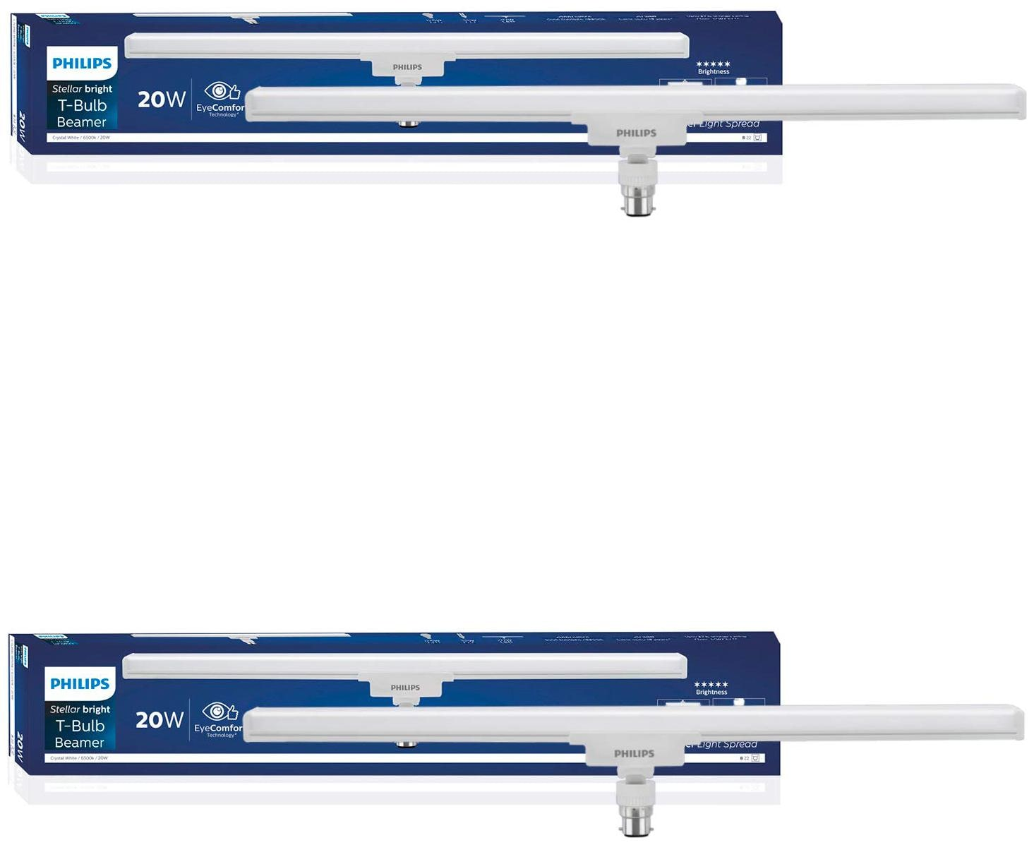 Philips Beamer 20W Tbulb 6500K Cool Day Light - Pack of 2