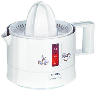 Philips CITRUS PRESS HR2771 25 W Juicer ( White , 1 Jar )