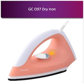 Philips GC097/50 750-Watt Dry Iron (Peach)