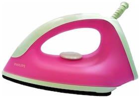 Philips GC091 750W Nonstick Dry Iron (Pink)