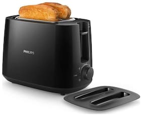 Philips HD2583/90 2 Slices Pop-Up Toaster - Black