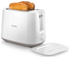 Philips HD2582/00 2 Slices Pop-Up Toaster - White