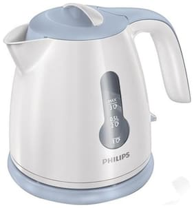Philips HD4608/70 0.8 L Electric Kettle (White)