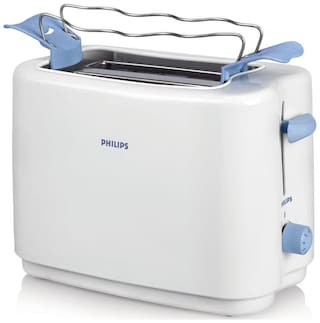 Philips HD4823/01 2 Slices Pop-Up Toaster - White