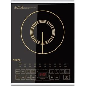 Philips HD4938 2100 W Induction Cooktop (Black)