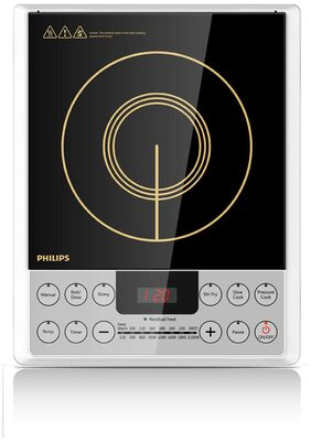 Philips HD4929/01 Induction Cooktop (Black & Silver)