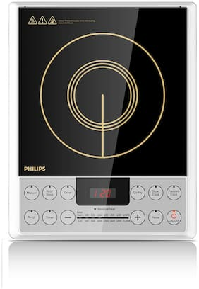 Philips HD4929 2100W 2100 w Induction Cooktop ( Black )