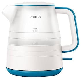 Philips Hd9344/14 1 ltr Electric Kettle ( Star white & Caribbean blue )