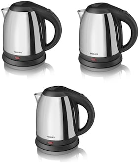 Philips HD9303/02 1.2-Litre Electric Kettle (Multi) Pack of 3