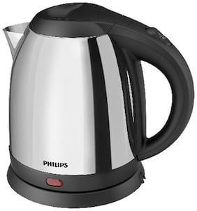 Philips HD9303 1.2 L Silver & Black Electric Kettle ( 1800 W )
