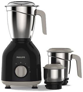 Philips HL7756/00 750 W Mixer Grinder (Black/3 Jar)