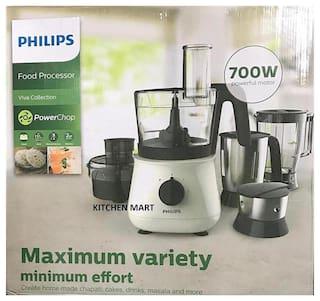 Philips Hl1661 700 w Food Processor ( Black & White )