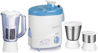 Philips HL1632 500 W Juicer Mixer Grinder ( White & Blue , 3 Jars )