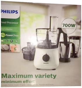 Philips Hl1661 700 w Food Processor ( Black & White )