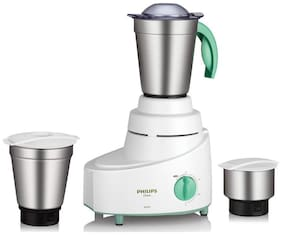 Philips HL1606/03 500 W Mixer Grinder ( White , 3 Jars )