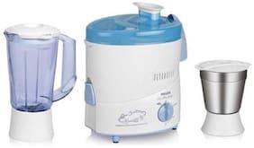 Philips HL1631 500 W Juicer Mixer Grinder ( White & Blue , 2 Jars )