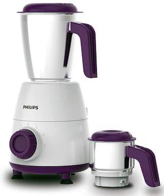PHILIPS HL7506/00 500 W Mixer Grinder with 2 Jars (Purple)