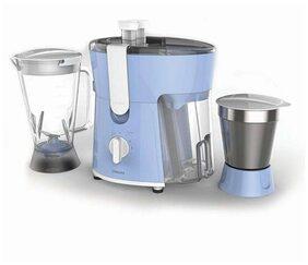 Philips HL7575/00 600 W Juicer Mixer Grinder (Blue & White) 2 Jars