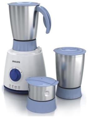 Philips HL7610/04 500 W Mixer Grinder ( White & Blue , 3 Jars )
