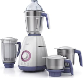 Philips HL7701/00 750 W Mixer Grinder ( White , 4 Jars )