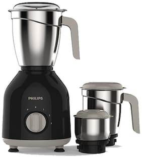 Philips HL7756/00 750 W Mixer Grinder ( Black , 3 Jars )