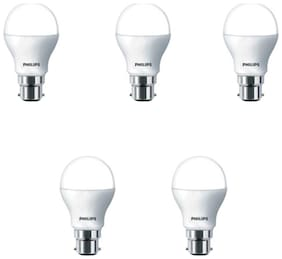 Philips 9W LED Bulb B22 - Pack of 5