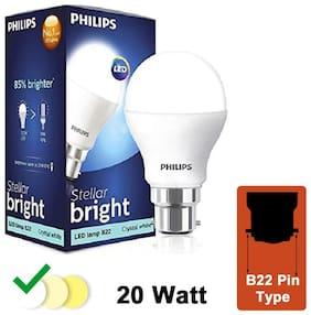 Philips Stellar Bright 20W LED Bulb 6500k (Cool Day Light)