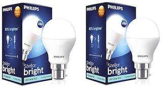 Philips Stellar Bright 20W LED Bulb 6500k (Cool Day Light) - Pack of 2
