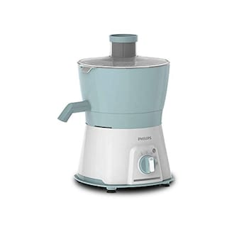 Philips Viva Collection HL7577/00 600 W Juicer (White;Pearl Blue)