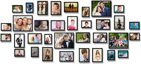 Photo Frame Collage For Wall Decor (Set Of 34)
