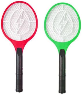 Pick And Move Mosquito Racket Pack Of 2 (Assorted )