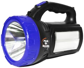 Pick Ur NeedsTM Rocklight Rechargeable Emergency Search Light 40 W + 2 Tube + Solar Charging