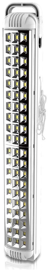 Pick Ur Needs Rocklight Rechargeable Home Delight Rechargeable Long Tube Light with 15 Hours Backup Emergency Light (White) (60 LED)