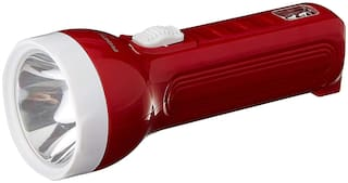 Pick Ur Needs Rocklight Plastic Rechargeable Mini Torch/Emergency Light (Colour As Per Availability)