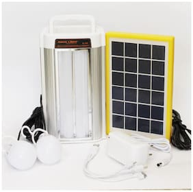 Pick Ur Needs Rocklight Emergency Portable Inverter/Multi-Function Portable Power Solar Energy Save Home Lighting System