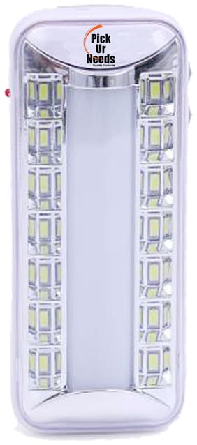 Pick Ur Needs 14 Bright LED +1 Tube With Android Charging Rechargeable Lantern Emergency Light (TUBE+SMD)