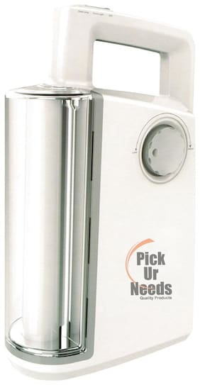 Pick Ur Needs Emergency Light, Supports Solar Charger Jacks (Big Tube with Table LAMP) Emergency Light (White)