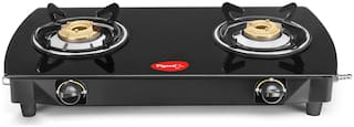 Pigeon BLACKLINE 2 Burners Gas Stove - Black