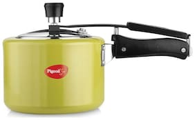 Pigeon CHORMA 3 L Pressure Cooker with Induction Bottom  (Aluminium)