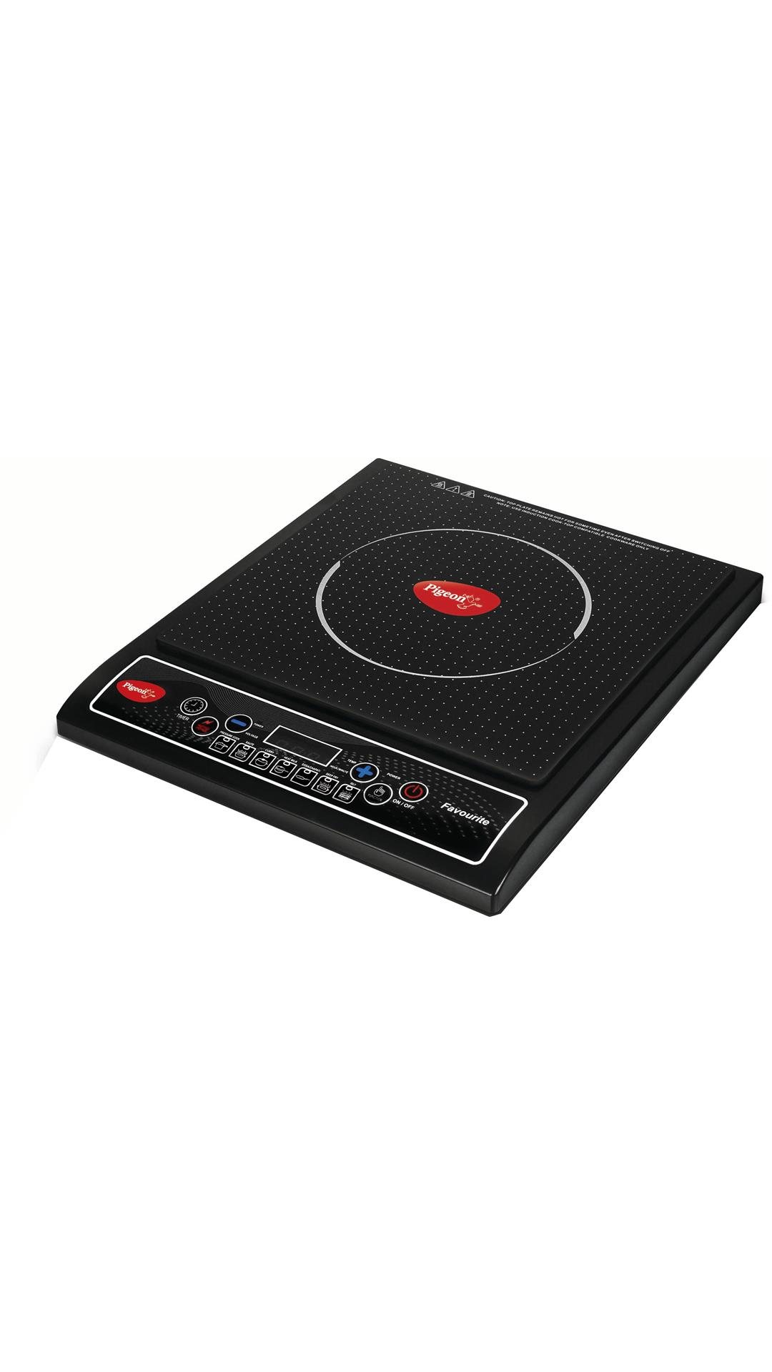Pigeon Favourite IC 1800 W Induction Cooktop (Black)