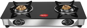 Pigeon FAVOURITE 2 Burners Stainless Steel Gas Stove - Black